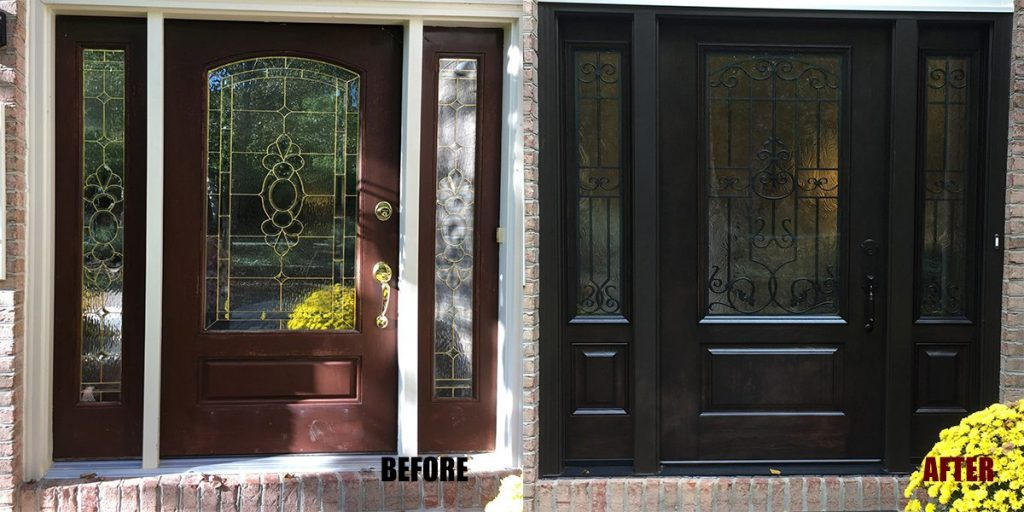 Provia exterior-door-replacement-before-and-after