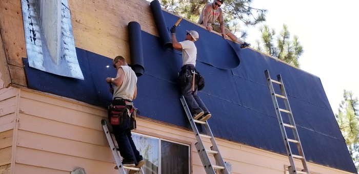 NuHome Exteriors residential roofing services